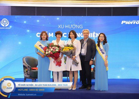tổ chức hội thảo sức khỏe răng miệng Đài Linh Group 016