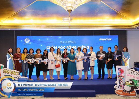 tổ chức hội thảo sức khỏe răng miệng Đài Linh Group 017