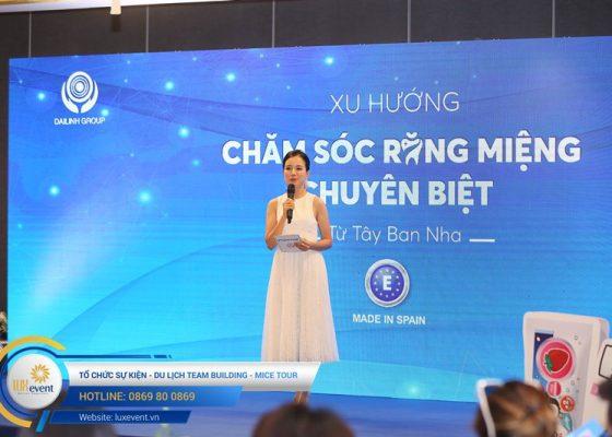 tổ chức hội thảo sức khỏe răng miệng Đài Linh Group 021