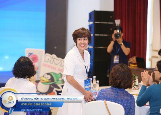 tổ chức hội thảo sức khỏe răng miệng Đài Linh Group 022