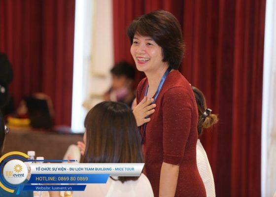 tổ chức hội thảo sức khỏe răng miệng Đài Linh Group 023