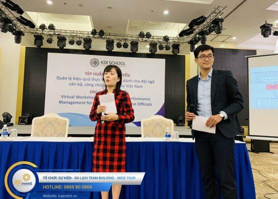 tổ chức hội thảo trực tuyến Học viện chính trị quốc gia Hồ Chí MInh 005