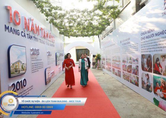 tổ chức lễ kỷ niệm 10 năm thành lập Dược phẩm Tâm Bình 010