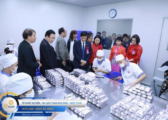 tổ chức lễ kỷ niệm 10 năm thành lập Dược phẩm Tâm Bình 012