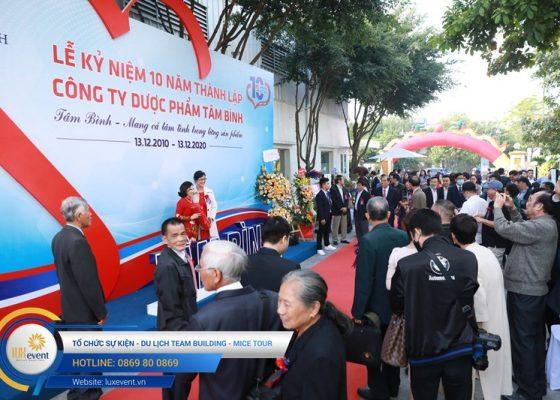 tổ chức lễ kỷ niệm 10 năm thành lập Dược phẩm Tâm Bình 015