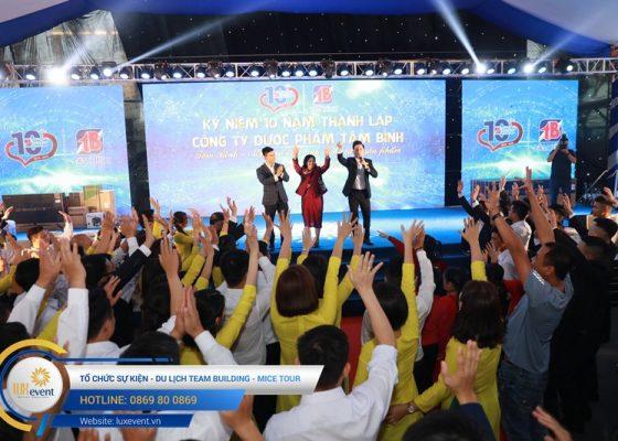 tổ chức lễ kỷ niệm 10 năm thành lập Dược phẩm Tâm Bình 020