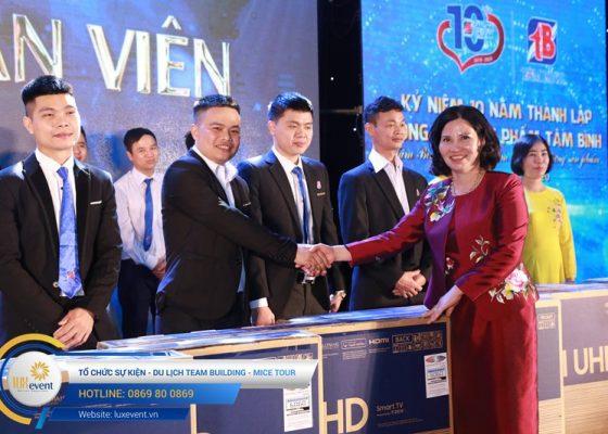 tổ chức lễ kỷ niệm 10 năm thành lập Dược phẩm Tâm Bình 021
