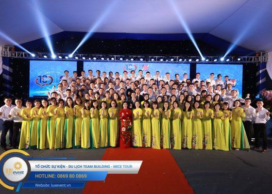 tổ chức lễ kỷ niệm 10 năm thành lập Dược phẩm Tâm Bình 022
