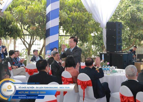 tổ chức lễ kỷ niệm 10 năm thành lập Dược phẩm Tâm Bình 026