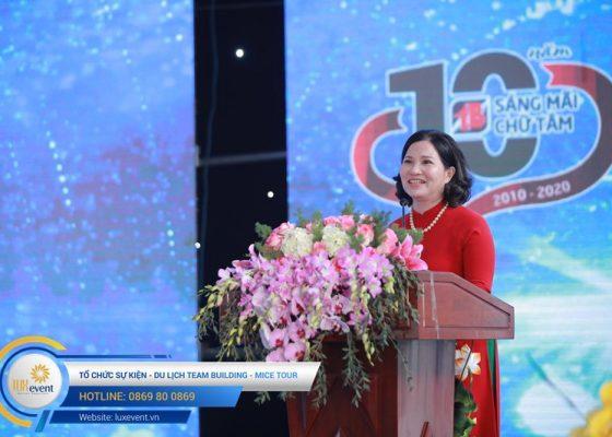tổ chức lễ kỷ niệm 10 năm thành lập Dược phẩm Tâm Bình 005