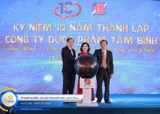 tổ chức lễ kỷ niệm 10 năm thành lập Dược phẩm Tâm Bình 030