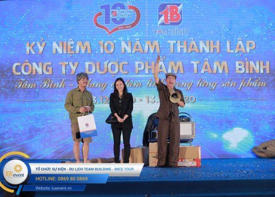 tổ chức lễ kỷ niệm 10 năm thành lập Dược phẩm Tâm Bình 006