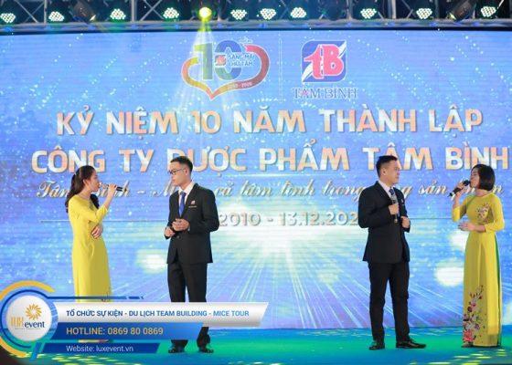 tổ chức lễ kỷ niệm 10 năm thành lập Dược phẩm Tâm Bình 032