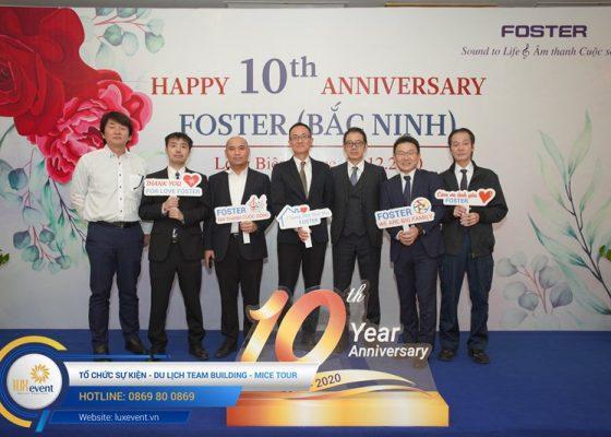 tổ chức lễ kỷ niệm thành lập Foster Bắc Ninh 003