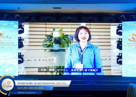 tổ chức lễ kỷ niệm thành lập Foster Bắc Ninh 011