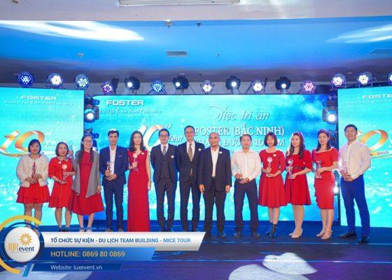 tổ chức lễ kỷ niệm thành lập Foster Bắc Ninh 012