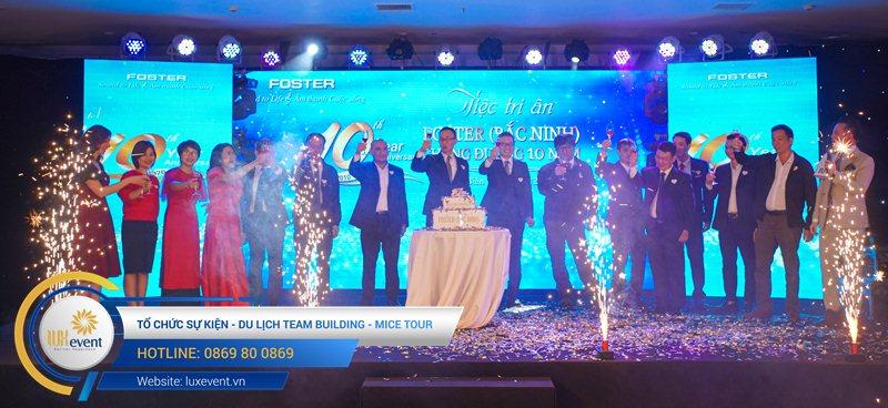 tổ chức lễ kỷ niệm thành lập Foster Bắc Ninh 015