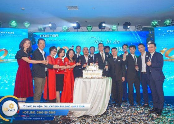 tổ chức lễ kỷ niệm thành lập Foster Bắc Ninh 007