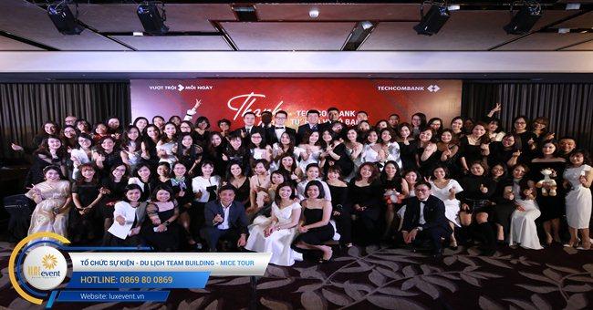 tiệc tất niên cuối năm Techcombank HR Division 001