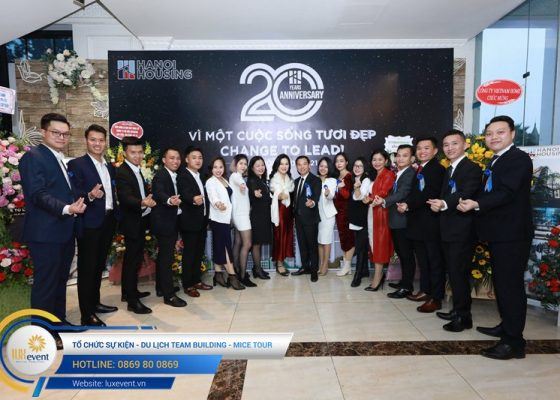 tổ chức lễ kỷ niệm 20 năm thành lập Hanoi Housing 003