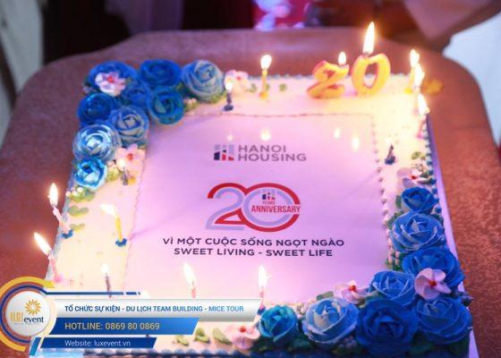 tổ chức lễ kỷ niệm 20 năm thành lập Hanoi Housing 008