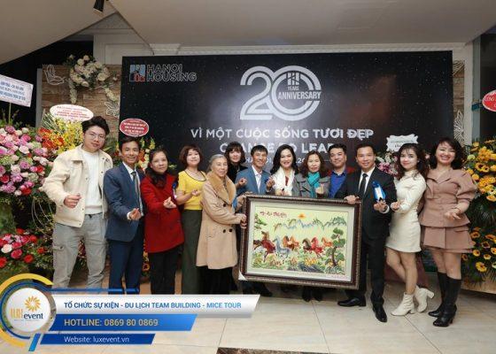 tổ chức lễ kỷ niệm 20 năm thành lập Hanoi Housing 014