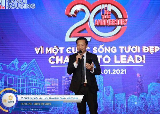tổ chức lễ kỷ niệm 20 năm thành lập Hanoi Housing 007