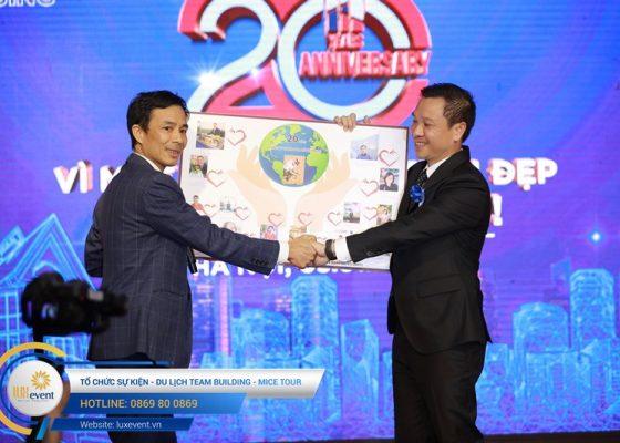 tổ chức lễ kỷ niệm 20 năm thành lập Hanoi Housing 018