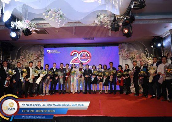 tổ chức lễ kỷ niệm 20 năm thành lập Hanoi Housing 019
