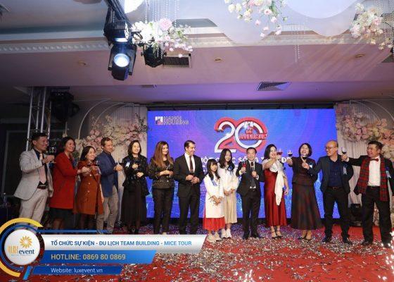 tổ chức lễ kỷ niệm 20 năm thành lập Hanoi Housing 005