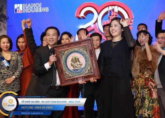 tổ chức lễ kỷ niệm 20 năm thành lập Hanoi Housing 024