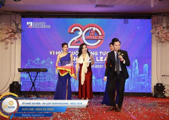 tổ chức lễ kỷ niệm 20 năm thành lập Hanoi Housing 026