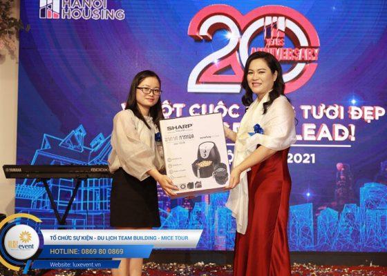 tổ chức lễ kỷ niệm 20 năm thành lập Hanoi Housing 027