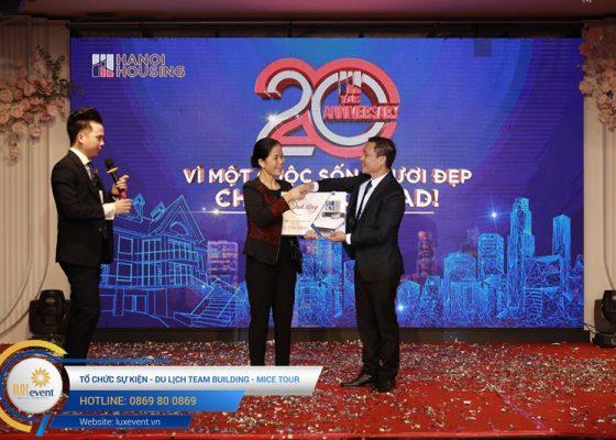 tổ chức lễ kỷ niệm 20 năm thành lập Hanoi Housing 028