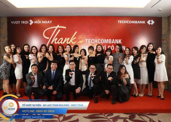 tiệc tất niên cuối năm Techcombank HR Division 003