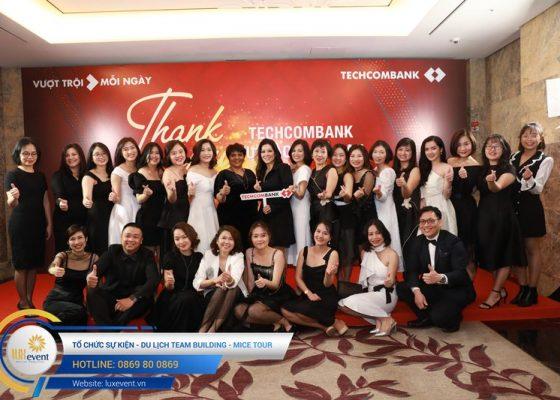 tiệc tất niên cuối năm Techcombank HR Division 010