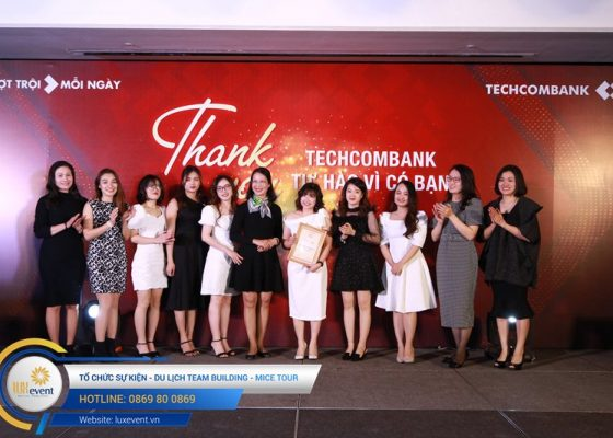 tiệc tất niên cuối năm Techcombank HR Division 011