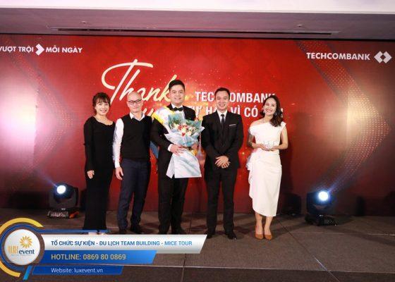 tiệc tất niên cuối năm Techcombank HR Division 018