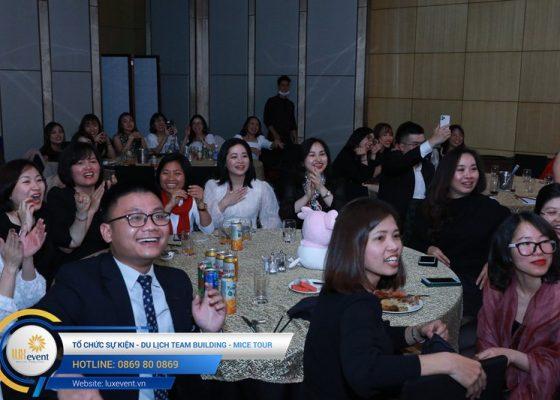 tiệc tất niên cuối năm Techcombank HR Division 020