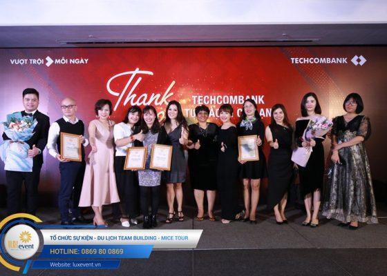 tiệc tất niên cuối năm Techcombank HR Division 022
