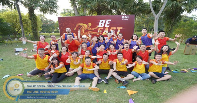 tổ chức tour team building BNI Alignment 001