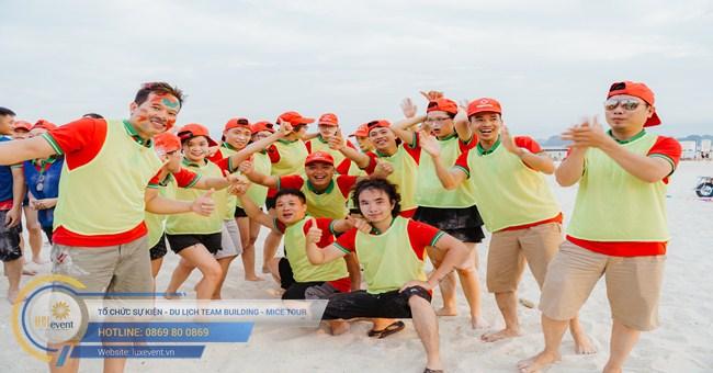 tổ chức team building Hạ Long