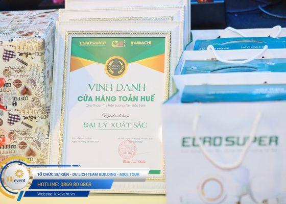 tổ chức hội nghị tri ân khách hàng - Euro Super 012