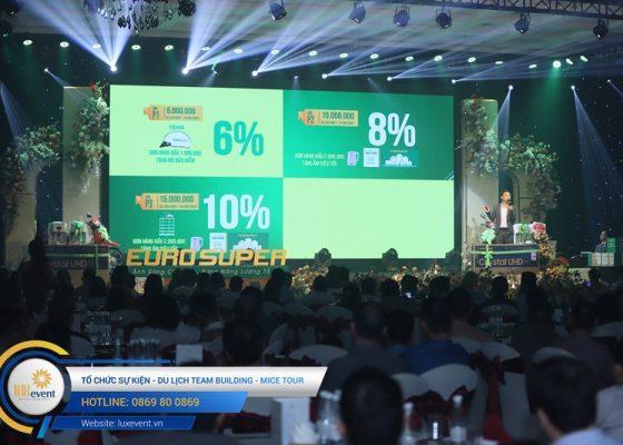 tổ chức hội nghị tri ân khách hàng - Euro Super 019
