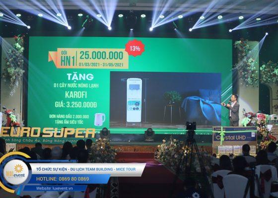 tổ chức hội nghị tri ân khách hàng - Euro Super 021