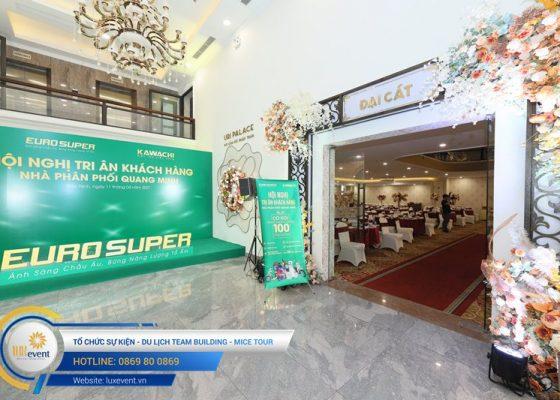 tổ chức hội nghị tri ân khách hàng - Euro Super 023