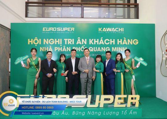 tổ chức hội nghị tri ân khách hàng - Euro Super 024