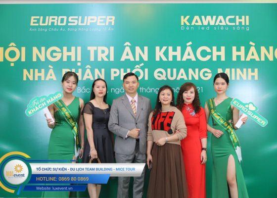 tổ chức hội nghị tri ân khách hàng - Euro Super 025