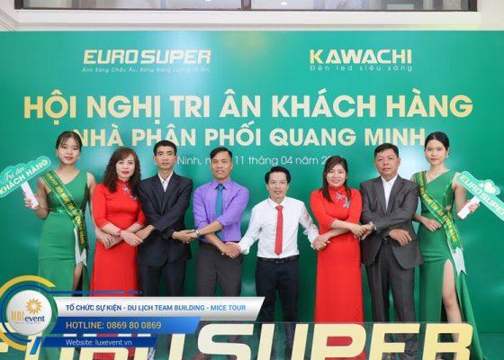 tổ chức hội nghị tri ân khách hàng - Euro Super 026