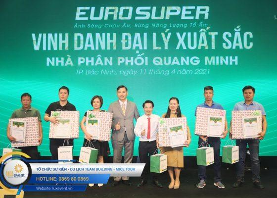 tổ chức hội nghị tri ân khách hàng - Euro Super 007